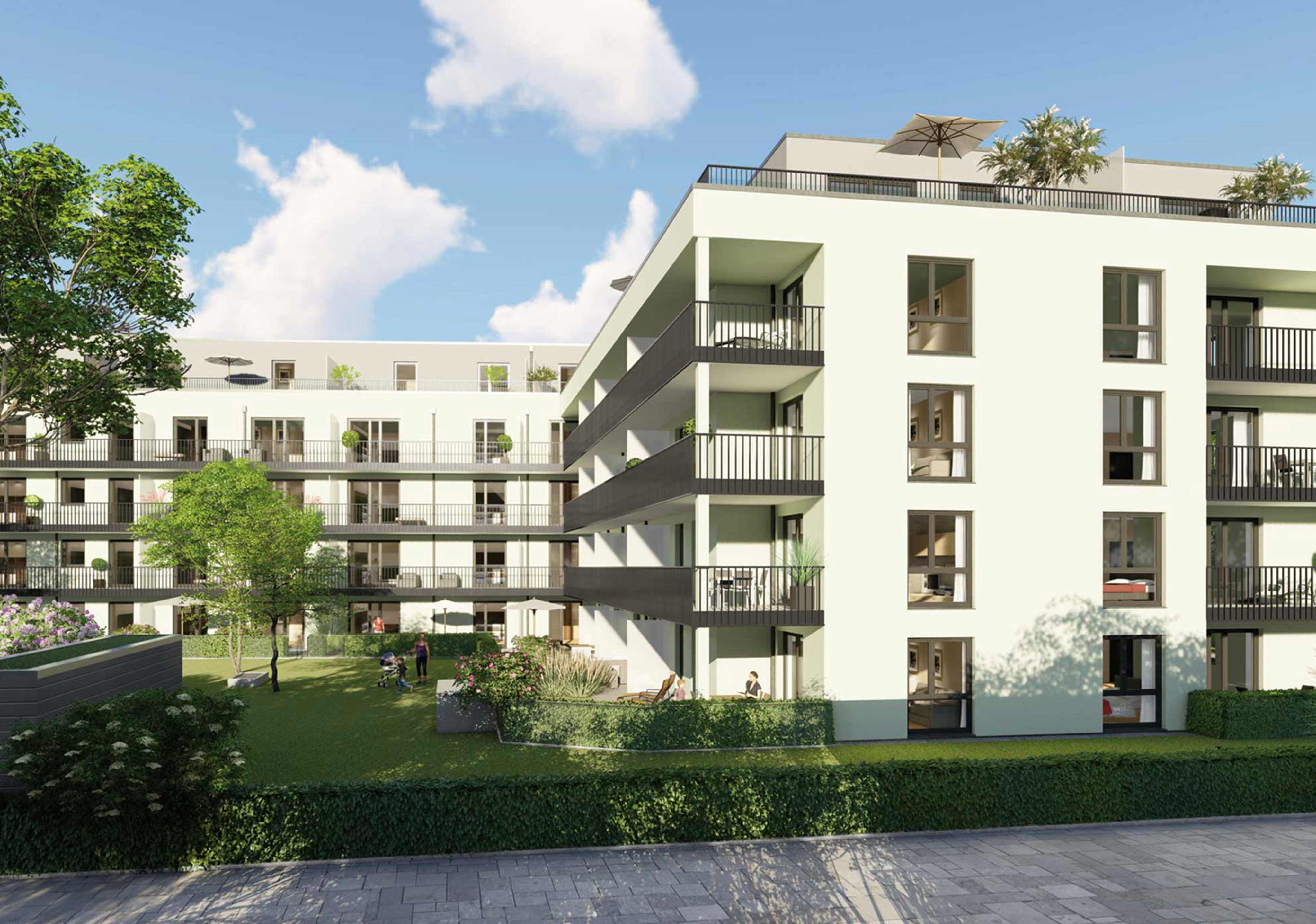 Wohnung kaufen in Neusäß | Beethoven Park 6